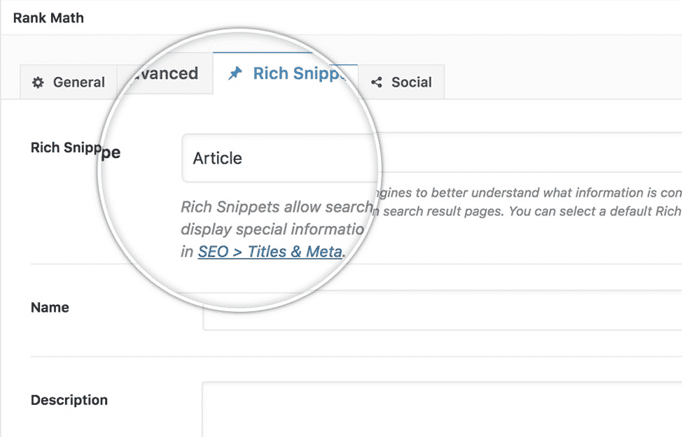 Rich Snippets Support