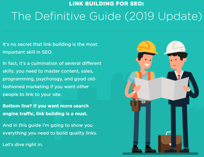 Brian Dean Guide on Link Building