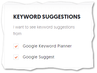 Include Google Keyword Planner Results in UberSuggest